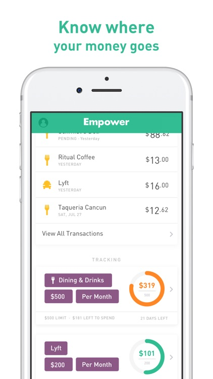 Empower - Banking & Budgeting screenshot-3