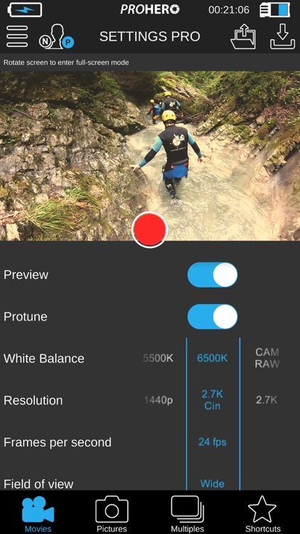 ProHero App for GoPro® Cam screenshot-1