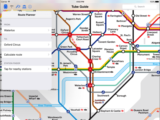 London Tube Map and Guide Скриншоты10