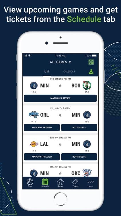Minnesota Timberwolves screenshot-3