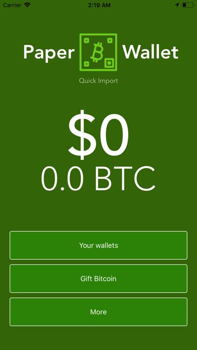 点击获取Paper Wallet - Bitcoin