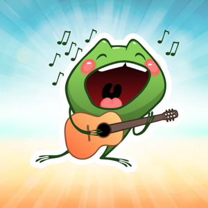 Francis Frog! The Emoji Collection app