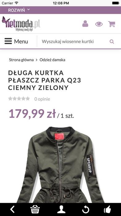 netmoda.pl - wykreuj swój styl screenshot two