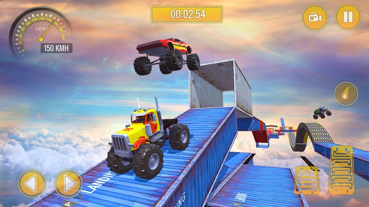 Monster Truck Stunts Challenge screenshot-1