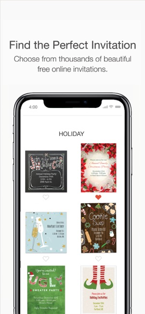 punchbowl online invitations on the app store