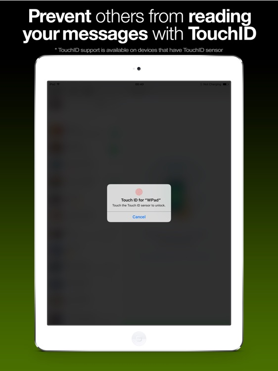 WPad for WhatsApp for iPad by Avni Sagiroglu