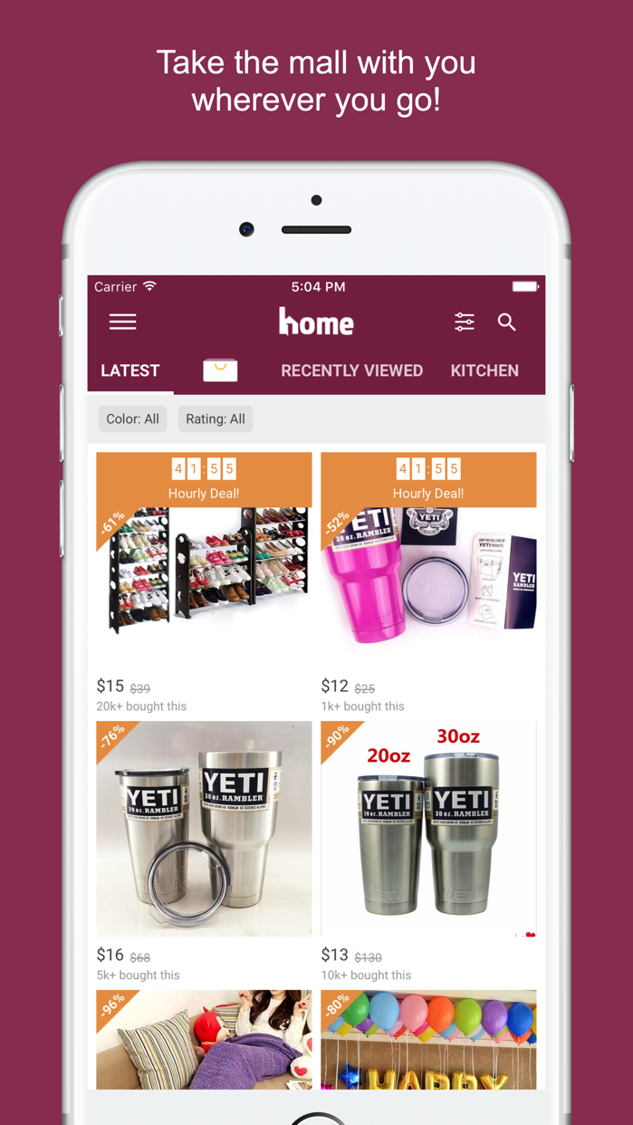 Home Design & Decor Shopping Screenshot