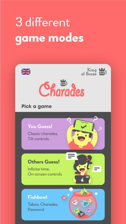 Charades Dirty Drinking Game by Boris Mikic