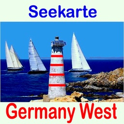 Marine: Germany West - GPS Map Navigator