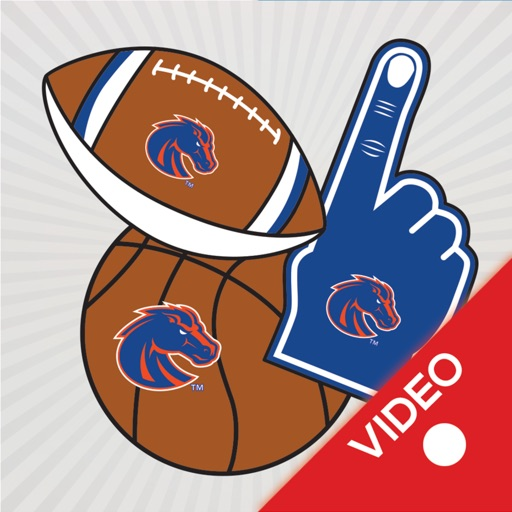Boise State Broncos Animated Selfie Stickers