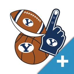 BYU Cougars+ Selfie Stickers