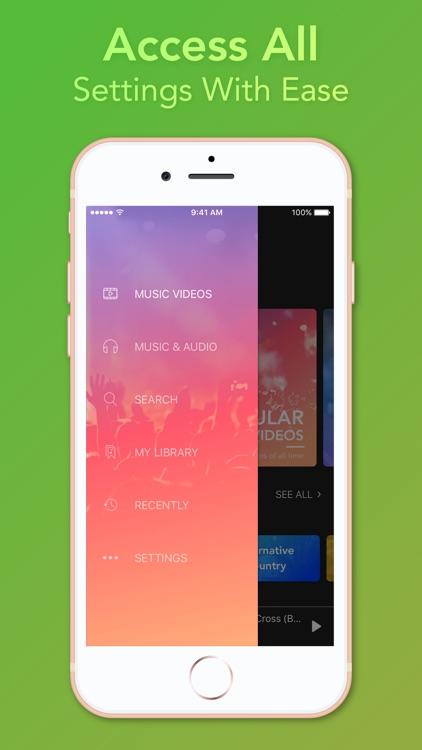 Video Player - Unlimited Music screenshot-8