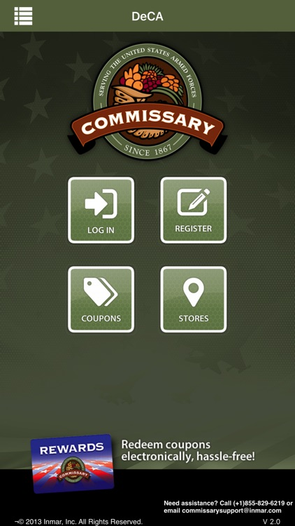 Commissary Rewards