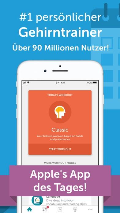Screenshot for Lumosity Tägliche Gehirnspiele in Switzerland App Store