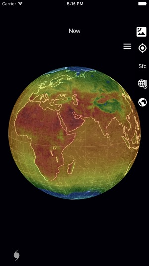 Live Earth Wind Map.Wind Map 3d Hurricane Tracker On The App Store