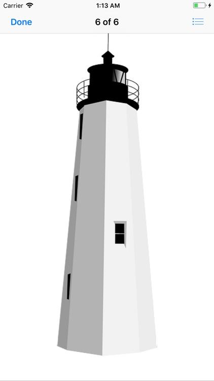 Lighthouse Stickers screenshot-6