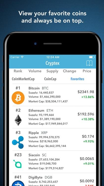 Cryptex - Portfolio & Tracker screenshot-3
