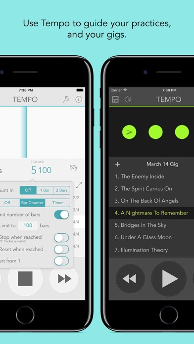 download Tempo - Metronome with Setlist apps 4