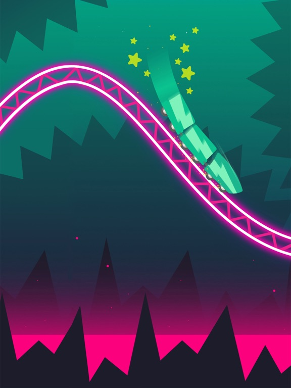 Rollercoaster Dash screenshot 6