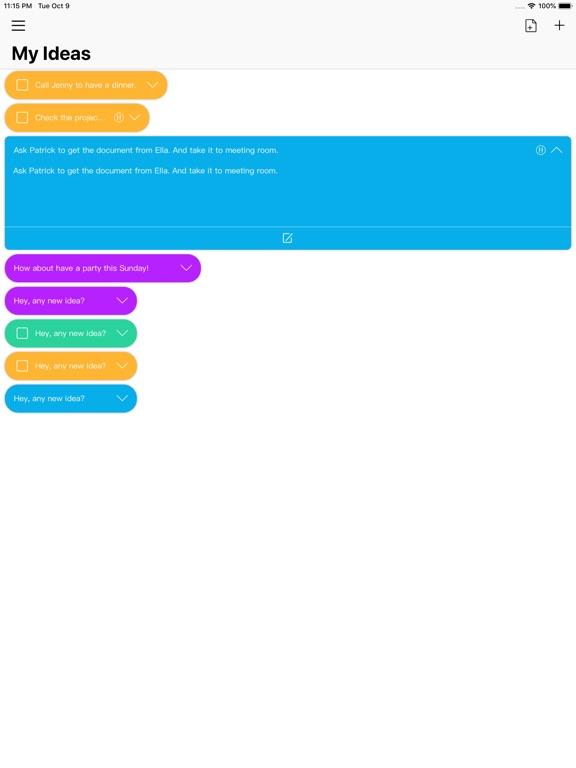 IdeaPill screenshot #1