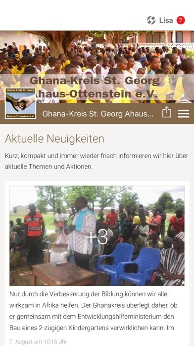 Ghana Kreis Ahaus-Ottenstein screenshot 1