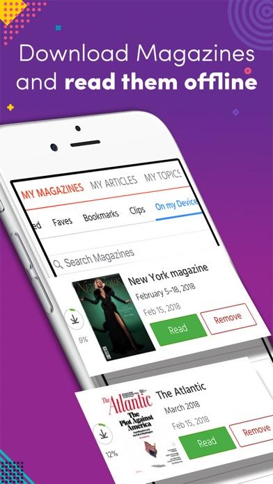 Magzter - 10,000+ Magazines Screenshot