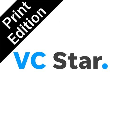 Ventura County Star Print Icon