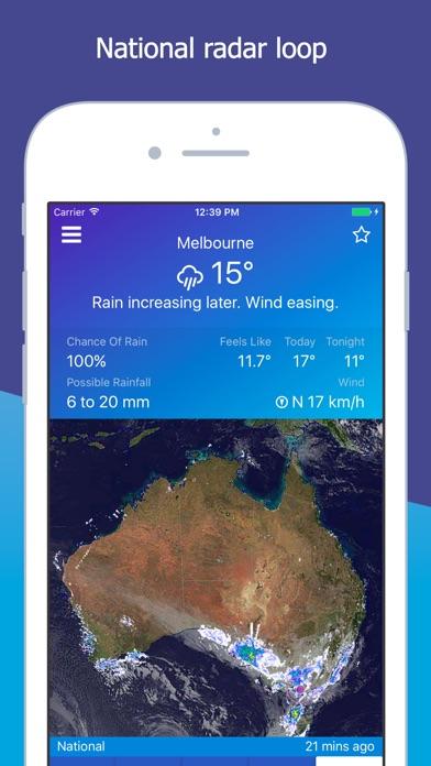 download AUS Rain Radar - Bom radar apps 2