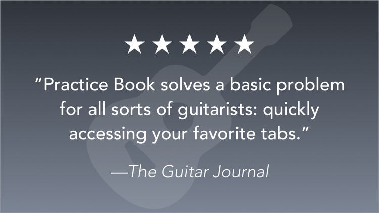 Practice Book: Tabs and Chords screenshot-4