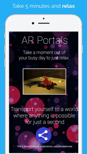 AR Relax With Portals on the App Store