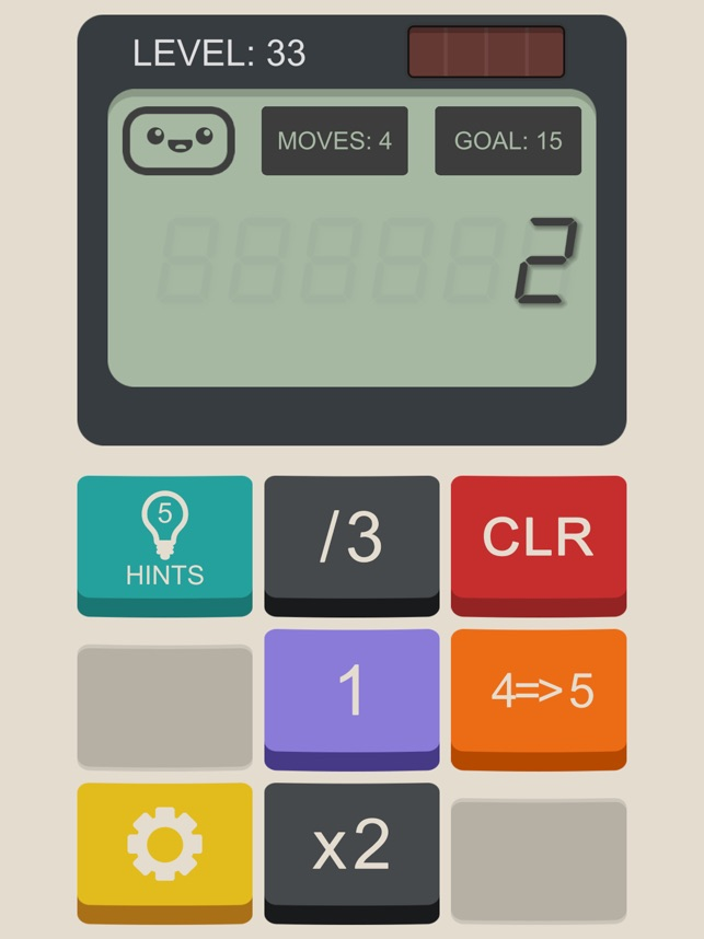 Calculator: The Game Screenshot