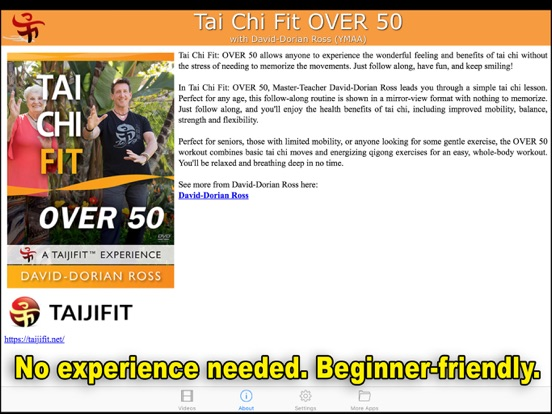 Tai Chi Fit OVER 50 | App Price Drops