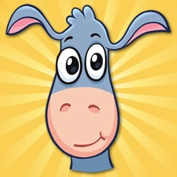 Donkey Elvis Stickers