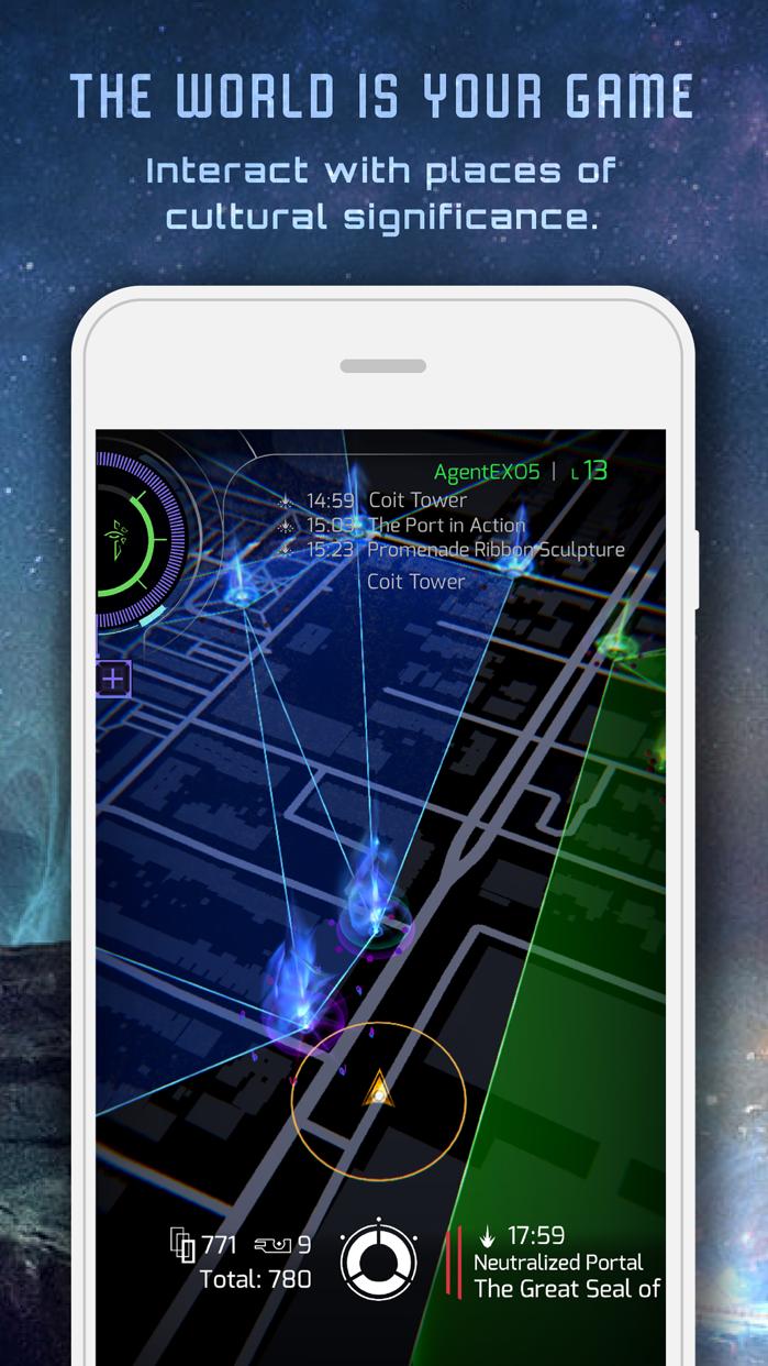 Ingress Prime Screenshot