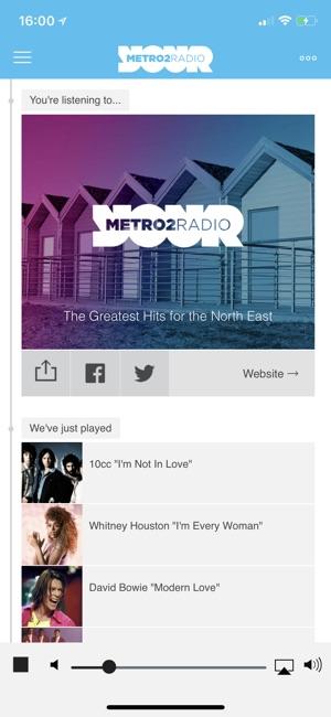 Metro radio dating app