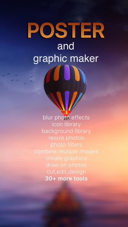 Poster Maker & Text over Photo screenshot-4