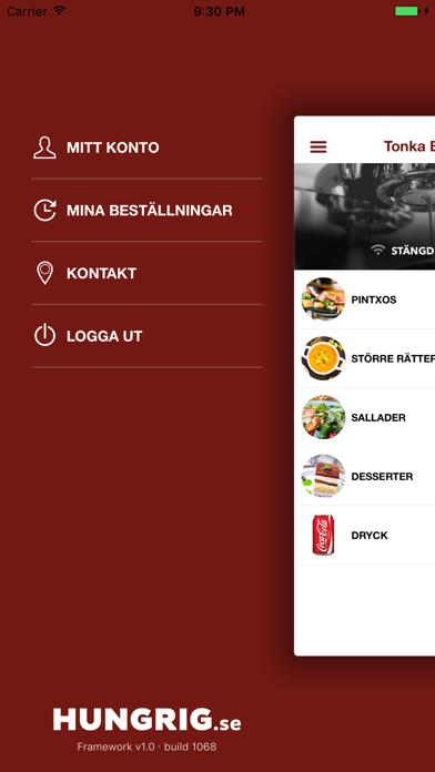 Tonka Bistro Café Screenshot