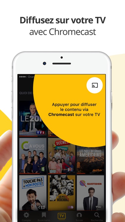 Molotov : TV en direct, replay TV, et plus screenshot-4