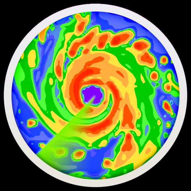 Radar Live: US rain radar map en Mac App Store