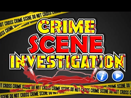Crime Scene Investigation Screenshots