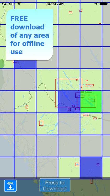 Aqua Map Br. Columbia Lakes HD screenshot-5