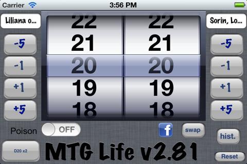 MTG Life classic - náhled