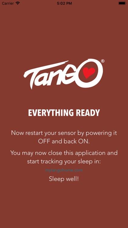 Tango HEALTH Night Setup screenshot-3