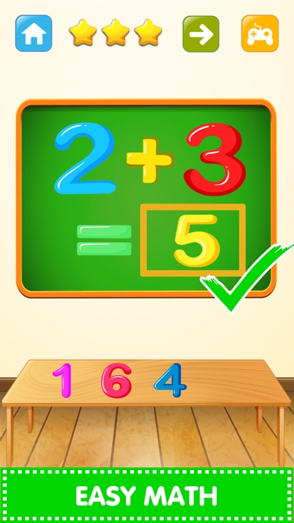 Basic Math Solver Quiz Test by Nit Srimarueang