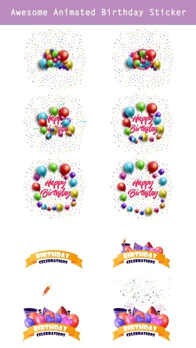 Happy Birthday - Animated screenshot 4