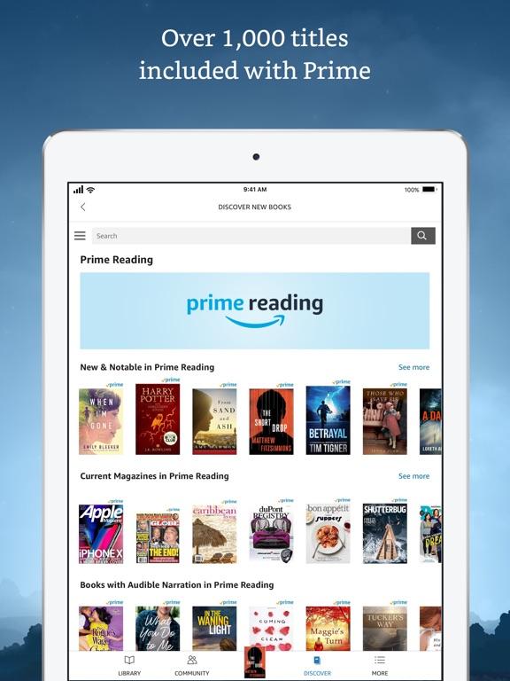 Amazon Kindle Скриншоты9