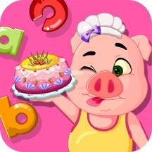 小猪佩奇英语餐厅