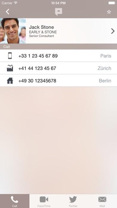 phonetrait address book Screenshots