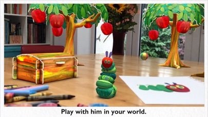 My Very Hungry Caterpillar AR screenshot 2