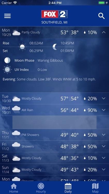 Fox 2 Weather screenshot-5